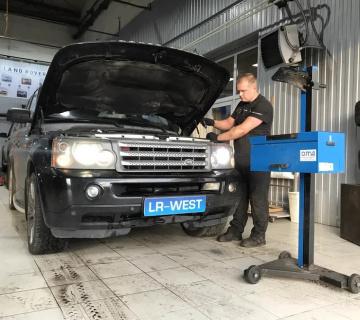 Ремонт фар Range Rover Sport
