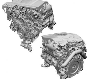 Ремонт дизельного турбированного двигателя 4.4 TD Range Rover