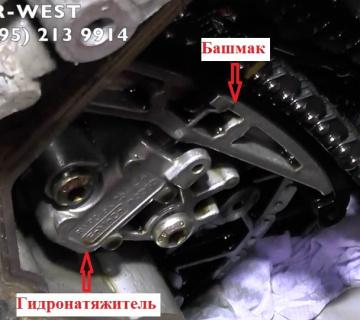 Ремонт бензинового двигателя с наддувом 5.0 SC Range Rover