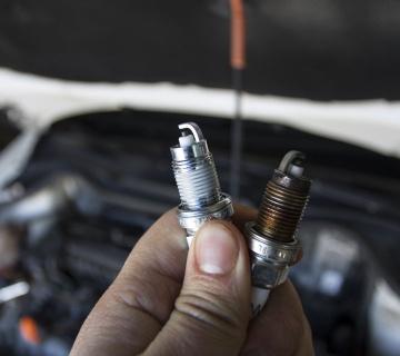 Замена свечей зажигания Range Rover