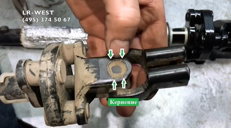 Ремонт вала рулевого управления ремонт дискавери 4 Замена выпускного коллектора porsche