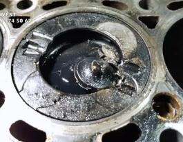 Отрыв клапана на двигателе 2.2 ТД Фрилендер 2
