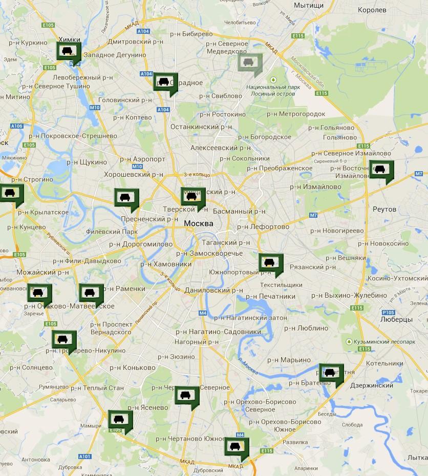 Официальные дилеры Ленд Ровер в Москве
