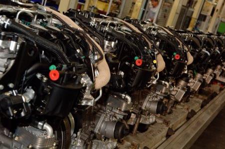 Дизельный двигатель TD4