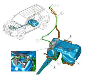 Особенности топливной системы на дизельном Freelander 2