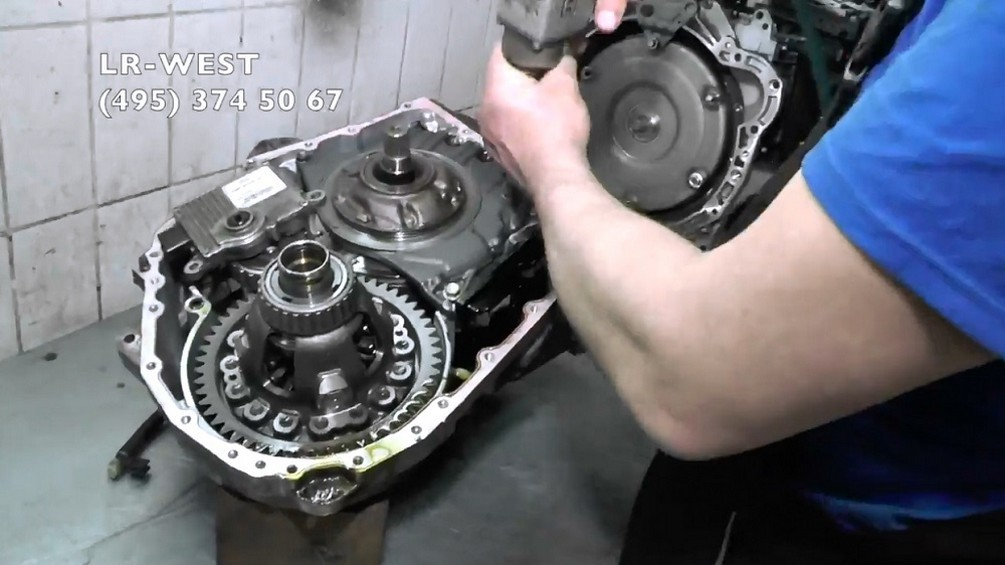 Диагностика и ремонт АКПП на Freelander 2