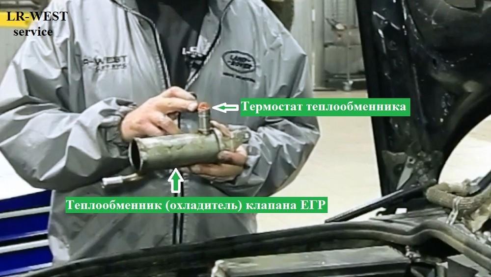 Диагностика и ремонт клапана ЕГР на двигателе 2 7 TD