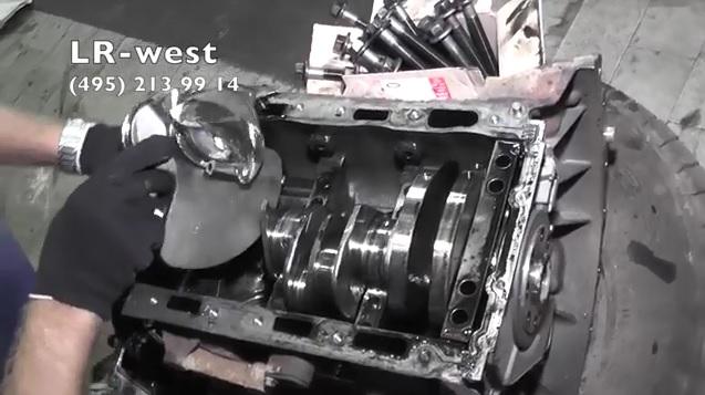 Ремонт дизельного турбированного двигателя 3.0 TD Range Rover Sport