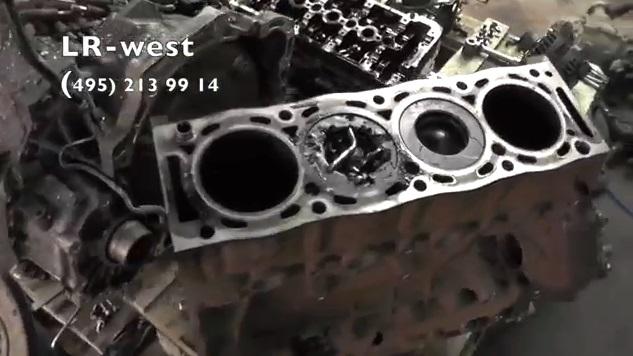 Ремонт дизельного турбированного двигателя 2.2 TD Range Rover Evoque