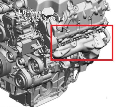 Ремонт дизельного турбированного двигателя 3.6 TD Range Rover Sport