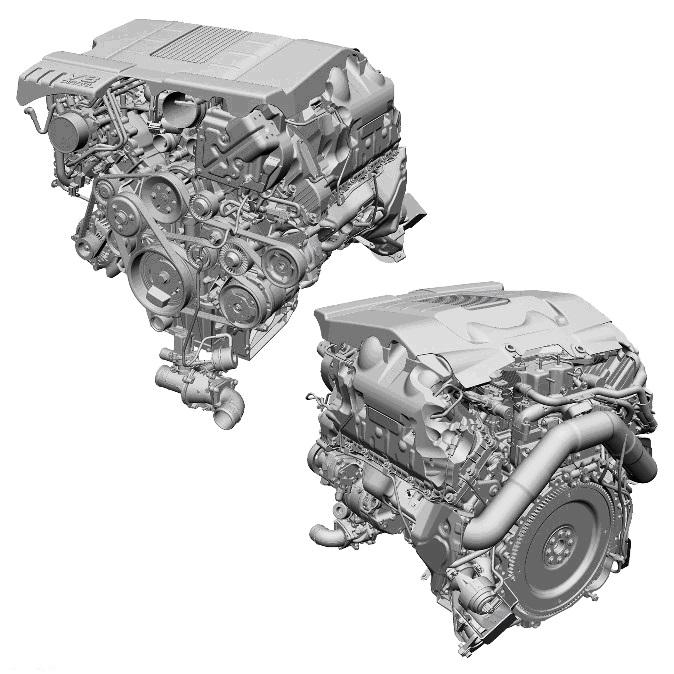Ремонт дизельного турбированного двигателя 4.4 TD Range Rover Sport
