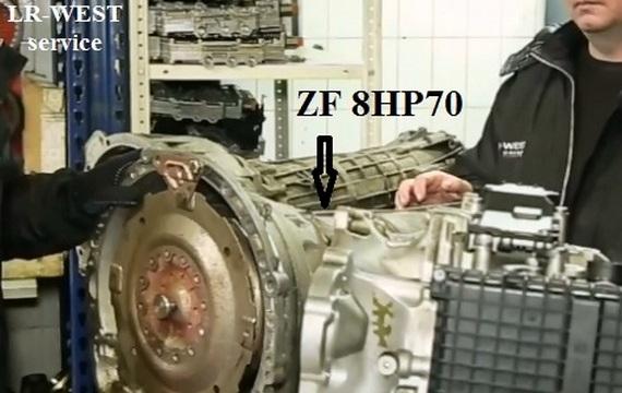 Диагностика АКПП Range Rover Sport